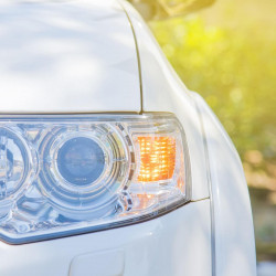 LED Front indicator lamps for Mitsubishi Outlander Phase 2