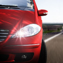 Pack LED feux de route pour Peugeot 406 1995-2004