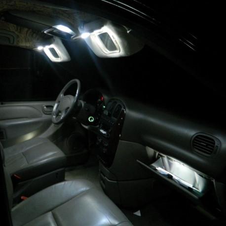 Pack LED intérieur pour Peugeot 607 1999-2010