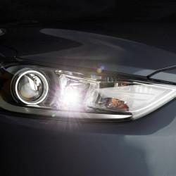 Pack Full LED Parking Light/License Plate for Peugeot 607 1999-2010