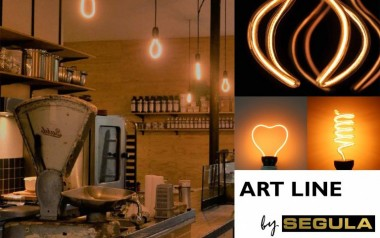 Rediscover the LED lighting with the light bulbs Art line by SEGULA®