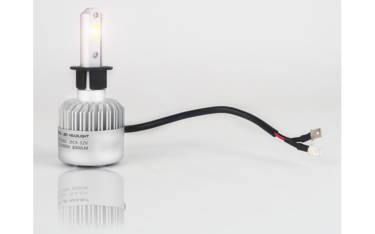 HOW TO CONNECT MY LED H1 BULBS?