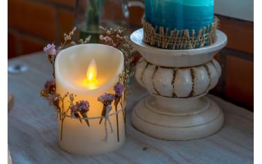 Astuce déco : utilisez des bougies LED pour réchauffer votre intérieur !