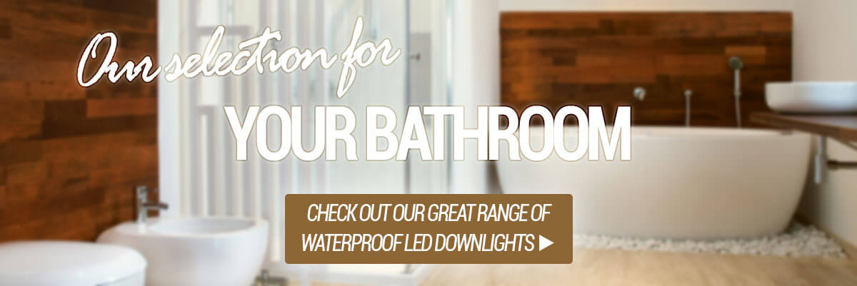LED downlights for bathrooms